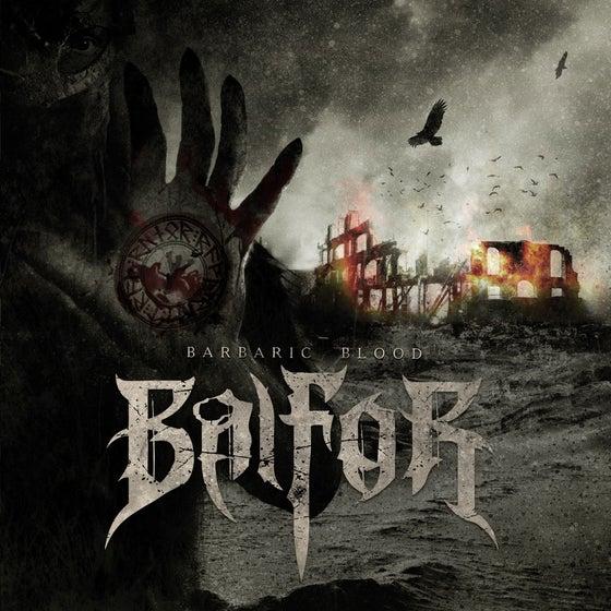 "Image of BALFOR ""Barbaric Blood"" Super Jewel Box CD"