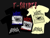 """Image of T-Shirt """"Cemetery At Midnight"""""""