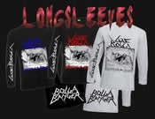 """Image of Long Sleeve shirt """"Cemetery At Midnight"""""""