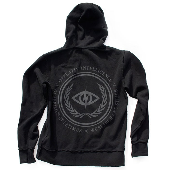 Image of INTEL RAW ZIP-UP HOODIE