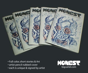 Image of Honest Zine 1