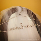 Image of The Original Silver Lingerie, Wedding Dress Hanger