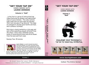 """Image of Volume 1, Eight by Eight (8 x 8) - """"GET YOUR TAP ON"""""""