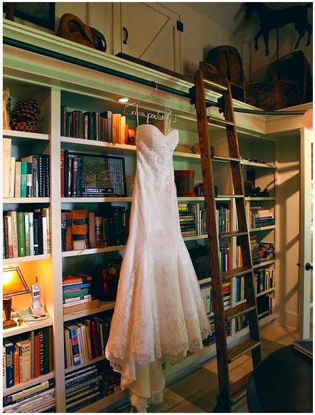 Image of The Original Silver Lingerie, Wedding Dress Hanger
