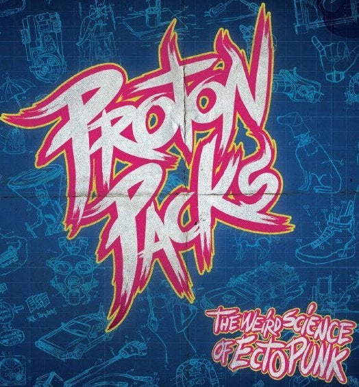 "Image of Proton Packs ""Weird Science"" LP"