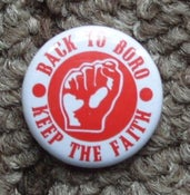 Image of KEEP THE FAITH -25mm badge