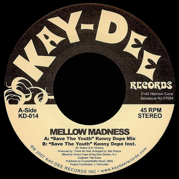 Image of KD014-MELLOW MADNESS