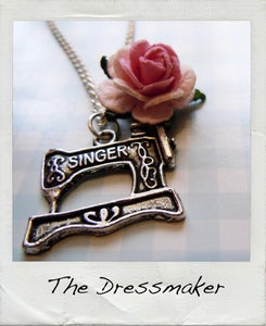 Image of Vintage Style Sewing Necklace