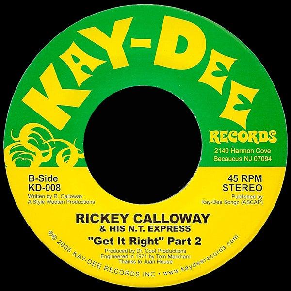 Image of KD008-RICKY CALLOWAY