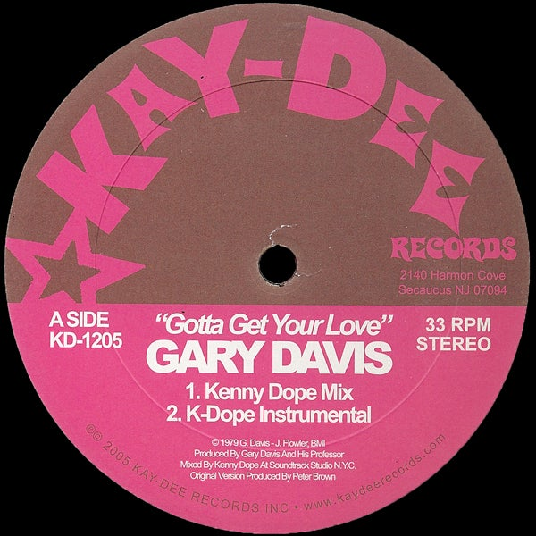 Image of KD1205-GARY DAVIS