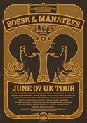Image of MANATEES & BOSSK SILK SCREEN PRINT