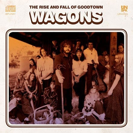 "Image of Wagons ""The Rise & Fall of Goodtown"" CD"