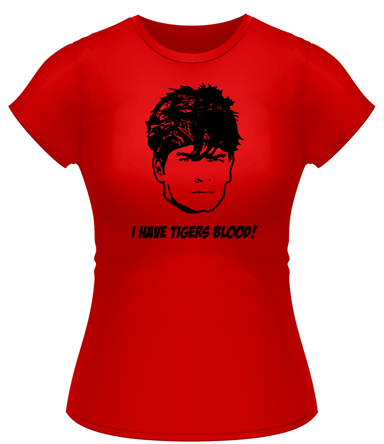 Image of Charlie Sheen Tigers Blood