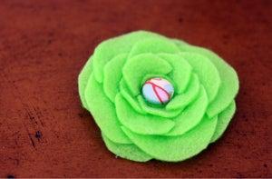 Image of Felt Flourish Clip