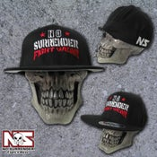 Image of Flat Bill No Surrender Fight Wear Hat