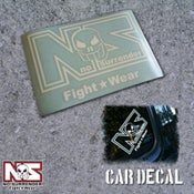 Image of No Surrender Fight Wear Decal