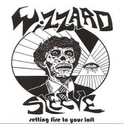 "Image of Wizzard Sleeve/True Sons of Thunder split 7"" limited ed 500 copies"