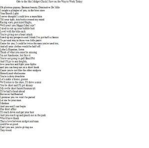Image of Short Poem