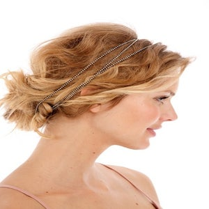Image of #104 - Bohemian Rhinestone Wrap Headband