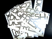 Image of DigiFresh Decal - Silver