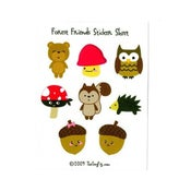 Image of Forest Friends Sticker Sheet