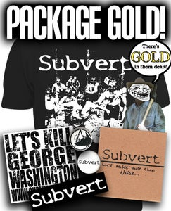 Image of PACKAGE GOLD!