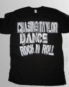 "Image of Black ""CHASING TAYLOR DANCE ROCK N ROLL"""