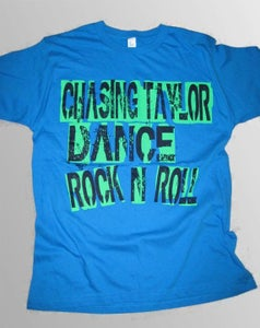 """Image of Blue """"CHASING TAYLOR DANCE ROCK N ROLL"""""""