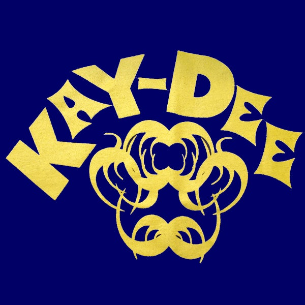 Image of KAYDEE - YELLOW ON ROYAL