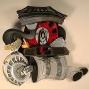 Image of Engine Sculpture