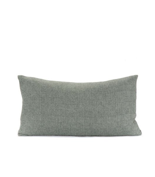 Image of DAKAR PILLOW celadon | steel 12x20