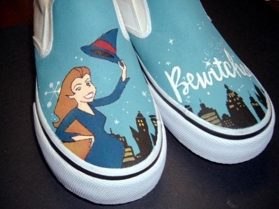 Bewitched Custom Made Vans Shoes