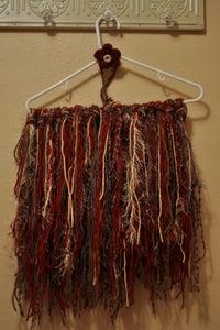 Image of Fringe blanket with matching headband