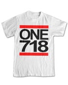 Image of ONE 718 White Tee