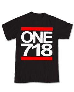 Image of ONE 718 Black Tee