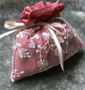 Image of Lovely Lavender Bag in Pink Taffeta