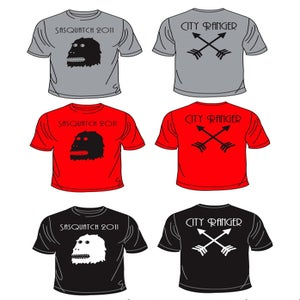 Image of Sasquatch 2011 Music Festival T-Shirt