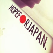 Image of Hope for Japan Decal - Black
