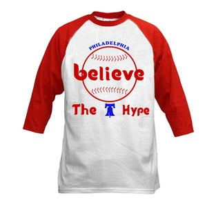 Image of Phillies Believe the Hype 3/4 Sleeves