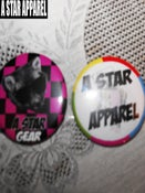 Image of A STAR  BADGES