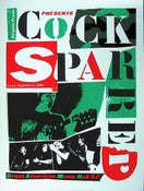 Image of Cock Sparrer poster