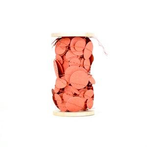 Image of Coral Confetti Garland