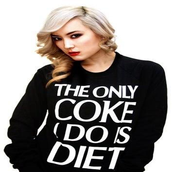 Image of The Only Coke I Do Is Diet (Crewneck Sweatshirt)
