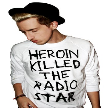 Image of Heroin Killed The Radio Star (Crewneck Sweatshirt)