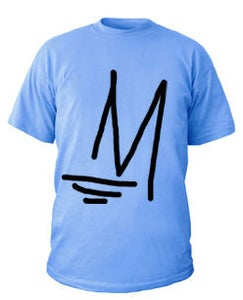 Image of M Logo   Light Blue