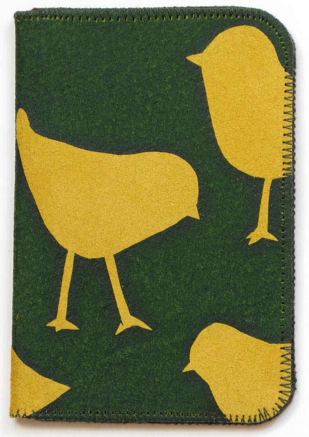 Image of Chicken Double Card Holder