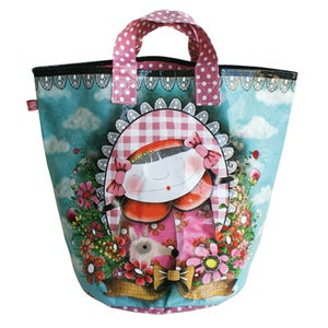 """Image of """"Le Cabas Portrait"""" Shopping Bag"""
