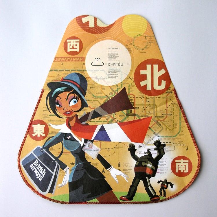 "Image of Chapéu Bag ""Victoria in Tokyo"""