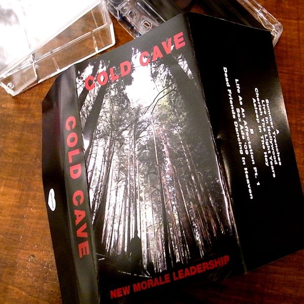 "Image of [CHARITY] COLD CAVE ""NEW MORALE LEADERSHIP"" JAPAN EDITION"