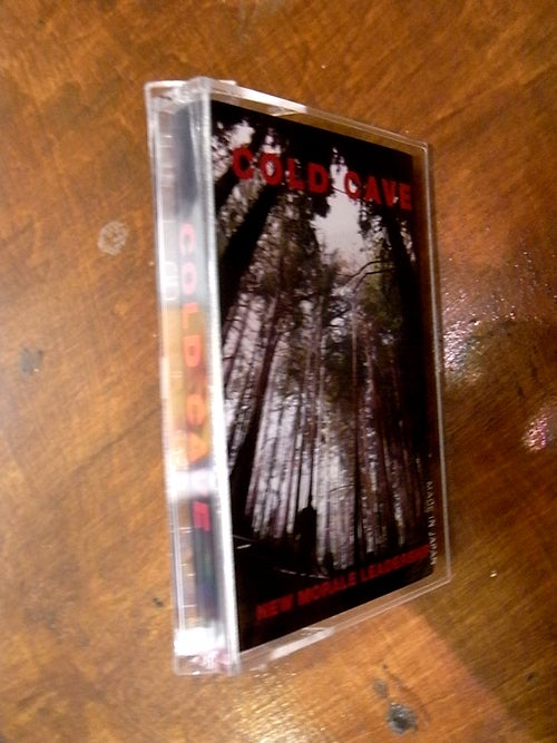 """Image of [CHARITY] COLD CAVE """"NEW MORALE LEADERSHIP"""" JAPAN EDITION"""